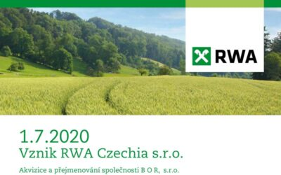 Vznik RWA Czechia s.r.o.