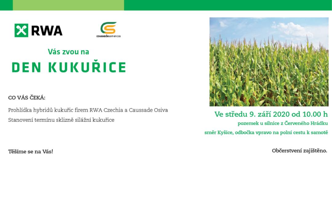 9. 9. 2020  Den kukuřice Červený Hrádek