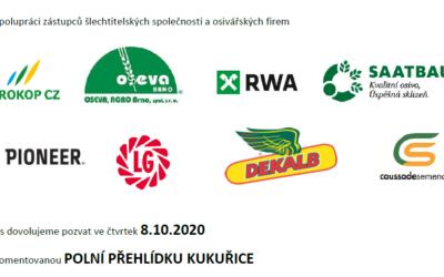 8. 10. 2020 Den kukuřice Miroslav